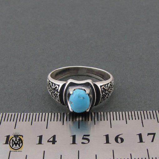 انگشتر فیروزه نیشابوری مردانه - کد 8397 - 4 112 510x510
