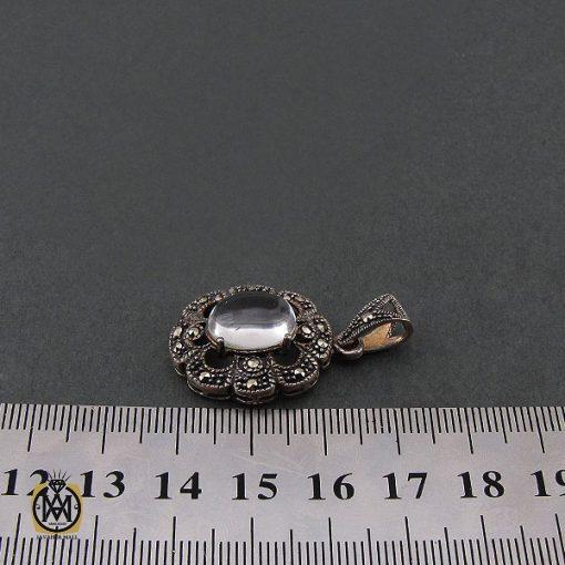 مدال دُر نجف زنانه طرح ارکیده - کد 3070 - 4 178 510x510