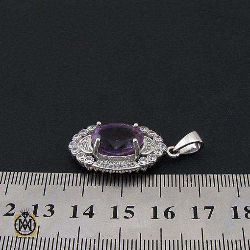 مدال آمتیست زنانه طرح نیایش- کد 3116 - 4 376 510x510