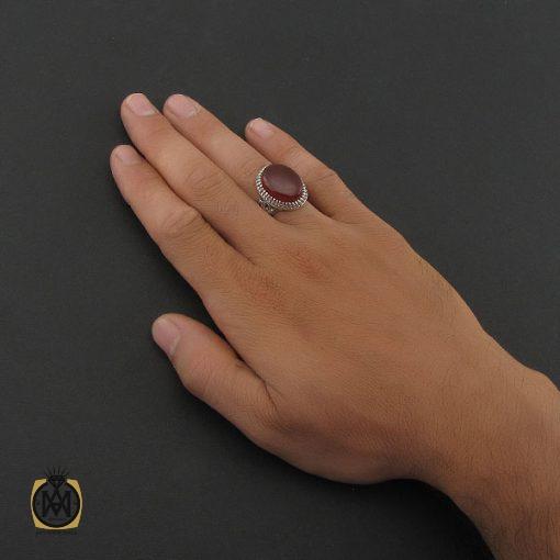 انگشتر عقیق یمن مردانه – کد ۸۴۲۶