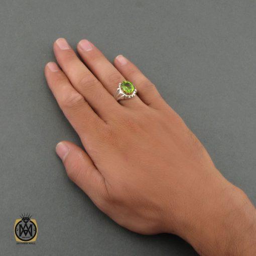 انگشتر زبرجد مردانه دست ساز – کد ۸۴۶۴