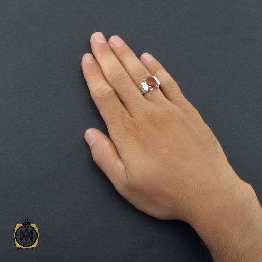 انگشتر عقیق یمن مردانه دست ساز – کد ۸۵۲۹