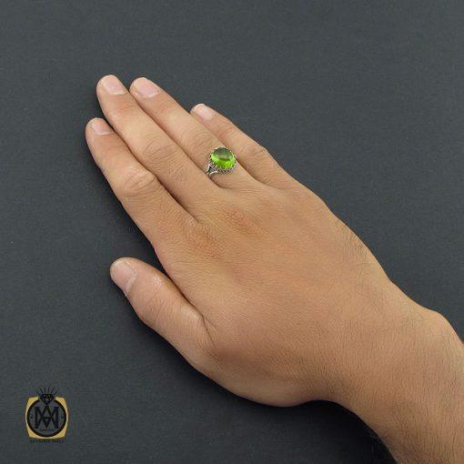 انگشتر زبرجد مردانه – کد ۸۵۵۱