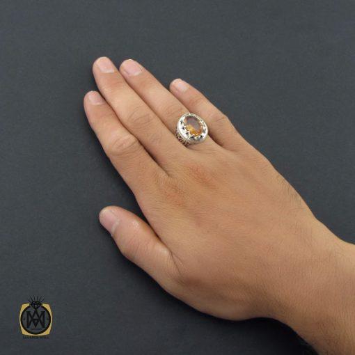 انگشتر زولتنایت مردانه دست ساز – کد ۸۵۵۶