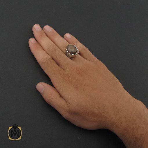 انگشتر عقیق یمن باباقوری مردانه – کد ۸۴۱۲