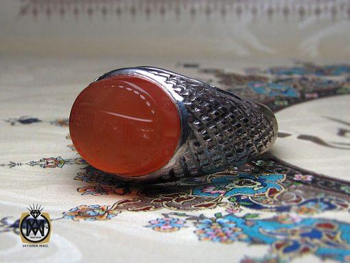 انگشتر عقیق یمن با حکاکی شرف الشمس اثر استاد ضابطی - کد 8666 - 00 127 510x383