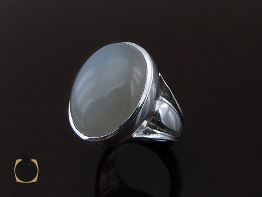 انگشتر مون استون مردانه مرغوب دست ساز - کد 8758 - 00 236 510x383