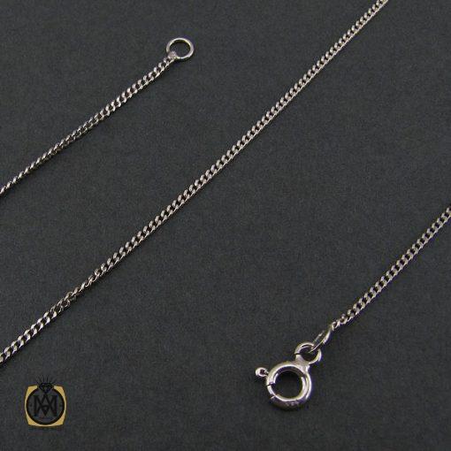 زنجیر نقره ۴۵ سانتی زنانه طرح جذاب – کد ۱۰۰۰۵