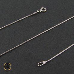 زنجیر نقره طرح امگا 50 سانتی زنانه – کد 10011 - 1 138 247x247