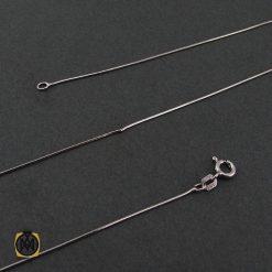 زنجیر نقره طرح امگا 50 سانتی زنانه – کد 10011 - 1 139 247x247