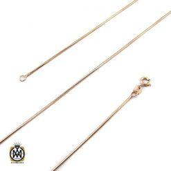 زنجیر نقره طرح امگا 50 سانتی زنانه – کد 10011 - 1 140 247x247