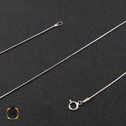 زنجیر نقره زنانه طرح جذاب 45 سانتی – کد 10012 - 1 141 247x247