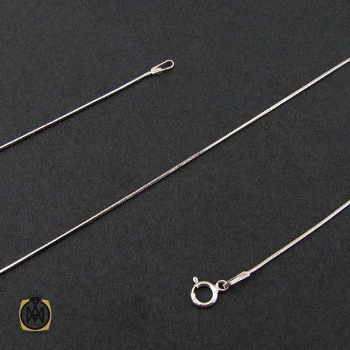 زنجیر نقره طرح امگا 50 سانتی زنانه – کد 10011 - 1 141 510x510