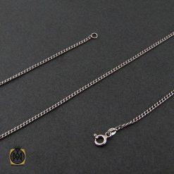 زنجیر نقره طرح امگا 50 سانتی زنانه – کد 10011 - 1 142 247x247