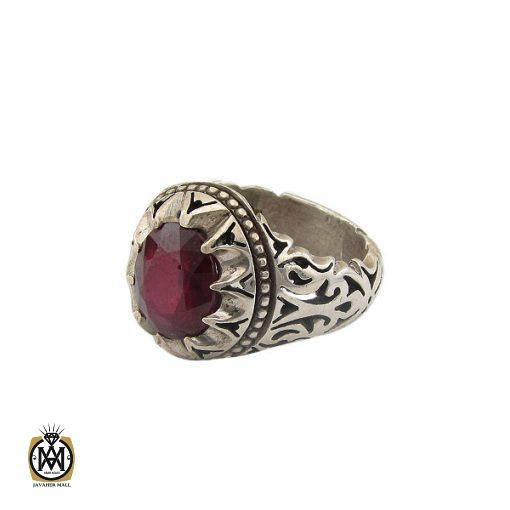 انگشتر یاقوت سرخ خوش رنگ مردانه - کد 8743 - 1 230 510x510