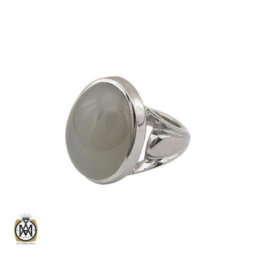 انگشتر مون استون مردانه مرغوب دست ساز - کد 8758 - 1 275 510x510