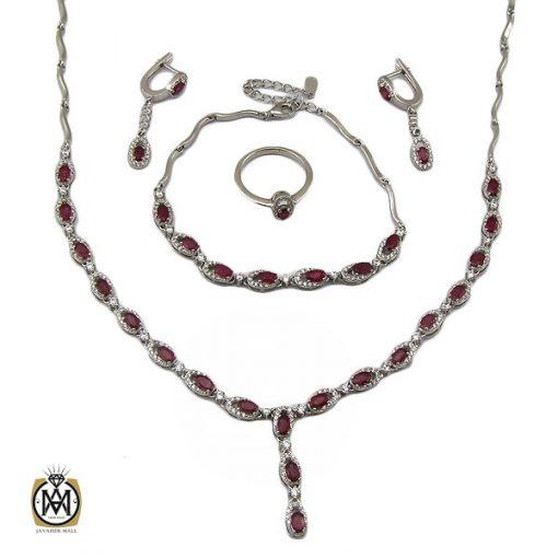 سرویس یاقوت سرخ زنانه طرح روشنا - کد 7121 - 1 319 510x510