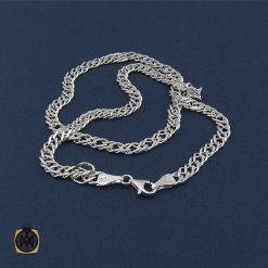 زنجیر نقره ۵۰ سانتی درشت مردانه – کد ۱۰۰۰۰