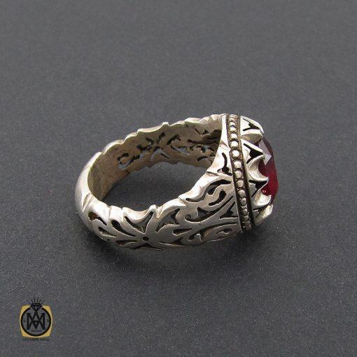 انگشتر یاقوت سرخ خوش رنگ مردانه - کد 8743 - 2 230 510x510