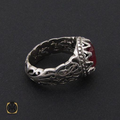 انگشتر یاقوت سرخ خوش رنگ مردانه - کد 8745 - 2 232 510x510