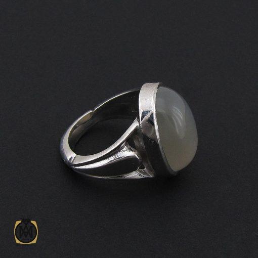 انگشتر مون استون مردانه مرغوب دست ساز - کد 8758 - 2 275 510x510