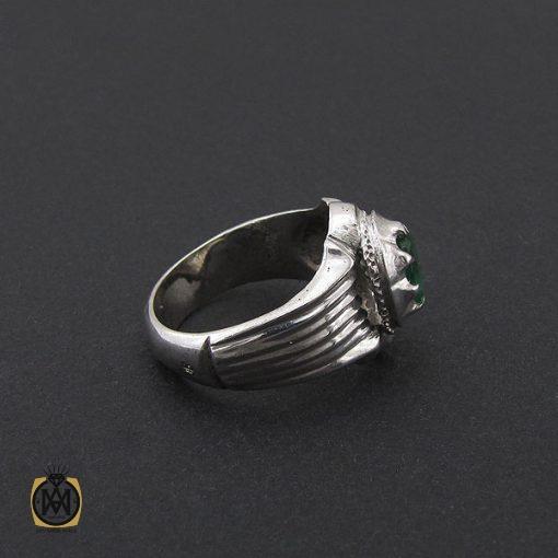انگشتر زمرد زامبیا مردانه خوش رنگ - کد 8772 - 2 289 510x510