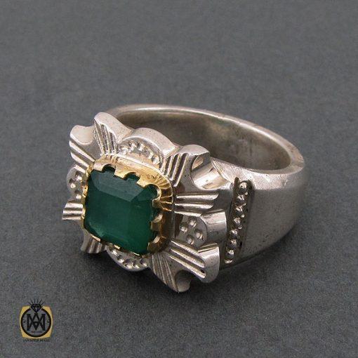 انگشتر زمرد زامبیا فاخر و ارزشمند - کد 8623 - 2 92 510x510