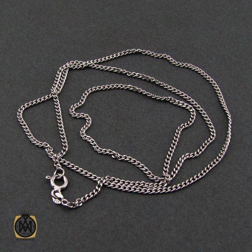 زنجیر نقره زنانه طرح جذاب ۴۵ سانتی – کد ۱۰۰۱۲