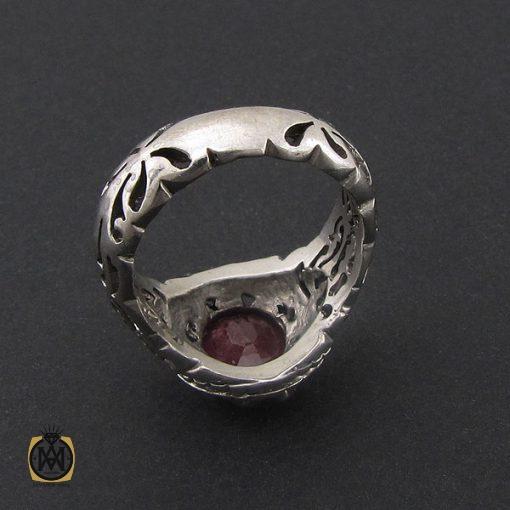 انگشتر یاقوت سرخ خوش رنگ مردانه - کد 8745 - 3 230 510x510