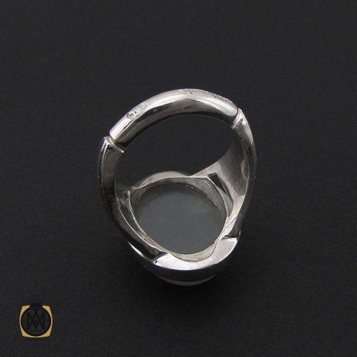 انگشتر مون استون مردانه مرغوب دست ساز – کد ۸۷۵۸