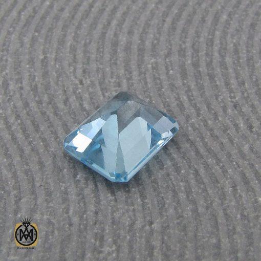 نگین تک توپاز آبی شفاف و مرغوب - کد 9038 - 3 47 510x510