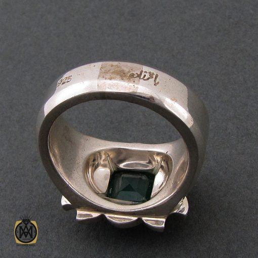 انگشتر زمرد زامبیا فاخر و ارزشمند - کد 8623 - 3 91 510x510