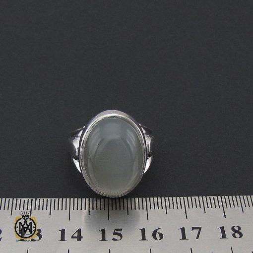 انگشتر مون استون مردانه مرغوب دست ساز - کد 8758 - 4 273 510x510