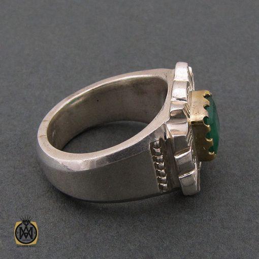 انگشتر زمرد زامبیا فاخر و ارزشمند - کد 8623 - 4 92 510x510