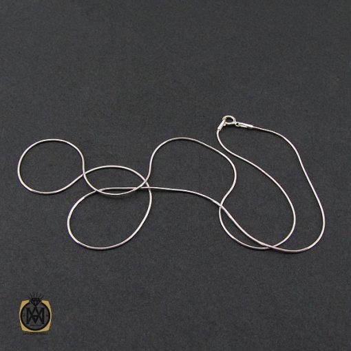 زنجیر نقره طرح امگا 50 سانتی زنانه – کد 10011 - 5 84 510x510