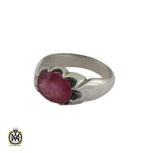 انگشتر یاقوت سرخ خوش رنگ مردانه - کد 8907 - 1 110 510x510
