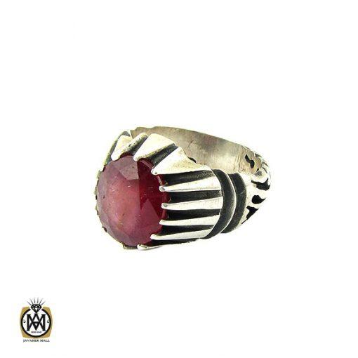 انگشتر یاقوت سرخ مردانه- کد 10049 - 1 296 510x510