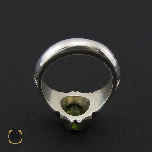 انگشتر زبرجد مردانه هنر دست استاد شرفیان – کد ۸۸۰۸