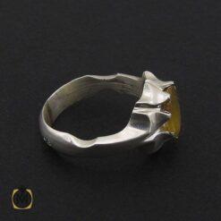 انگشتر یاقوت زرد مردانه دست ساز - کد 8942 - 2 181 247x247