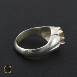 انگشتر یاقوت زرد مردانه دست ساز - کد 8943 - 2 182 247x247
