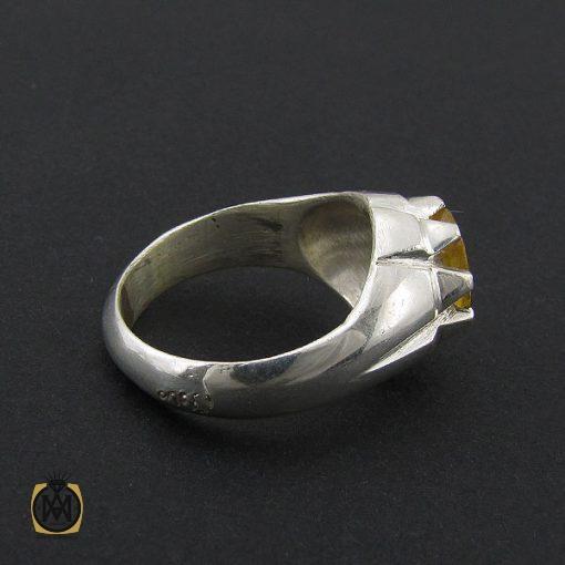 انگشتر یاقوت زرد مردانه دست ساز - کد 8943 - 2 182 510x510