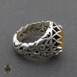 انگشتر یاقوت زرد مردانه دست ساز فاخر - کد 8945 - 2 184 247x247