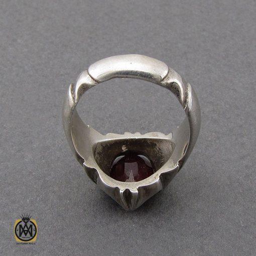 انگشتر یاقوت سرخ خوش رنگ مردانه - کد 10046 - 2 294 510x510