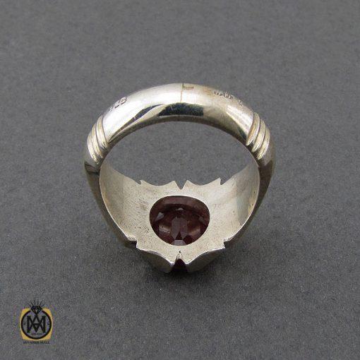انگشتر یاقوت سرخ خوش رنگ مردانه هنر دست استاد باقرزاده - کد 10047 - 2 295 510x510