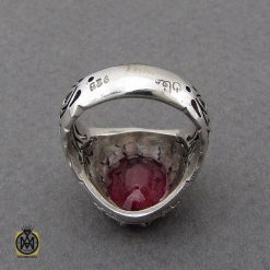 انگشتر یاقوت سرخ خوش رنگ مردانه هنر دست استاد مغان - کد 10048 - 2 296 247x247