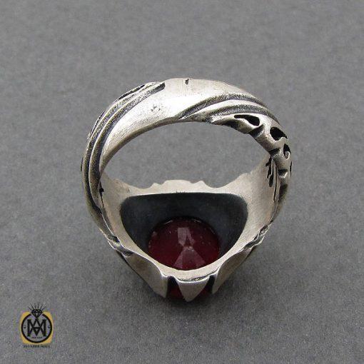 انگشتر یاقوت سرخ مردانه- کد 10049 - 2 297 510x510