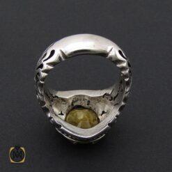 انگشتر یاقوت زرد مرغوب مردانه دست ساز - کد 8881 - 2 83 247x247