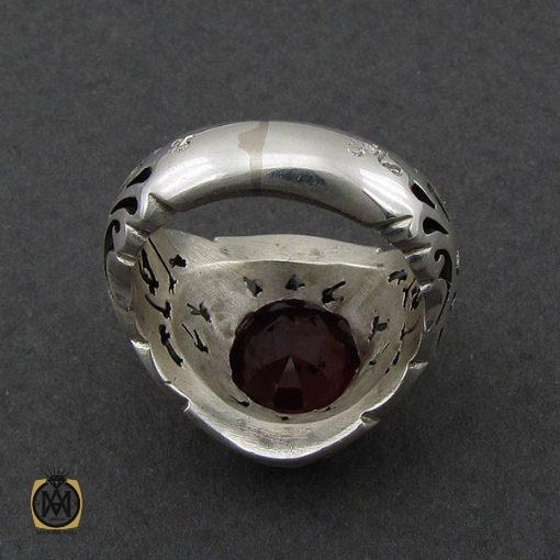 انگشتر یاقوت سرخ مردانه خوش رنگ دست ساز - کد 8951 - 3 191 510x510