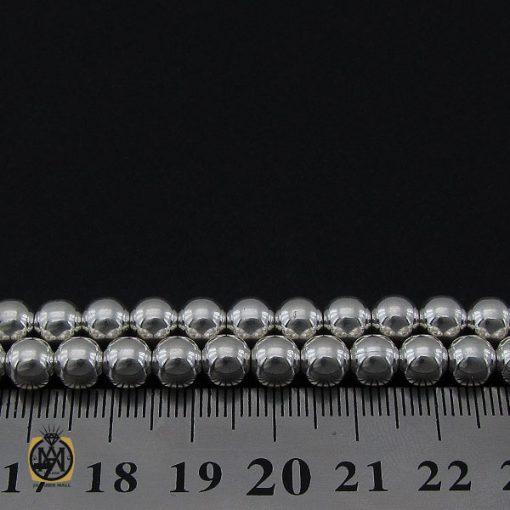 تسبیح نقره 101 دانه گرد ساده - کد 4132 - 3 230 510x510