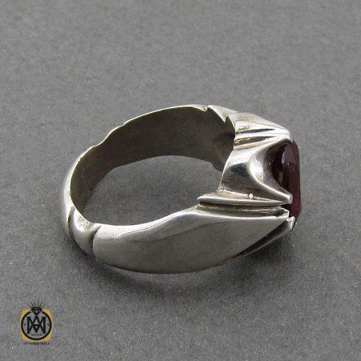انگشتر یاقوت سرخ خوش رنگ مردانه - کد 10046 - 3 295 510x510